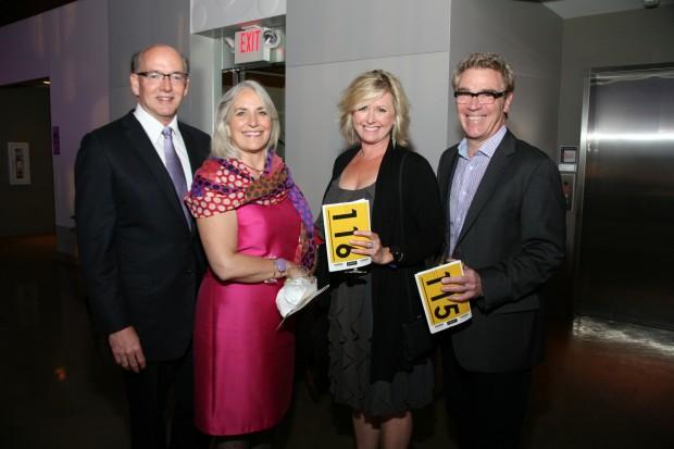 Ward and Carol Klein, Betsy and Bob Cuneo
