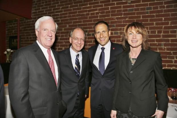 Pat Sly, Mark Halton, David Bruns, Linda Reich