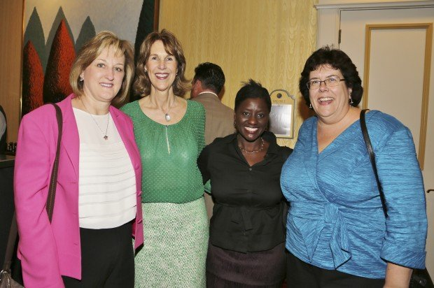 Lori Burch, Chris Chadwick, Yemi Akande, Brenda Wrench