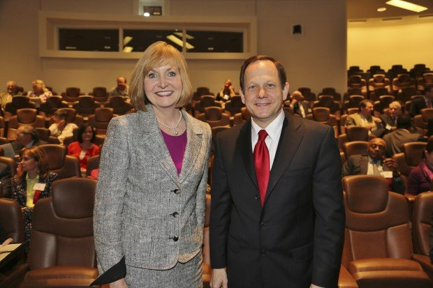Mayor Linda Goldstein, Mayor Francis Slay