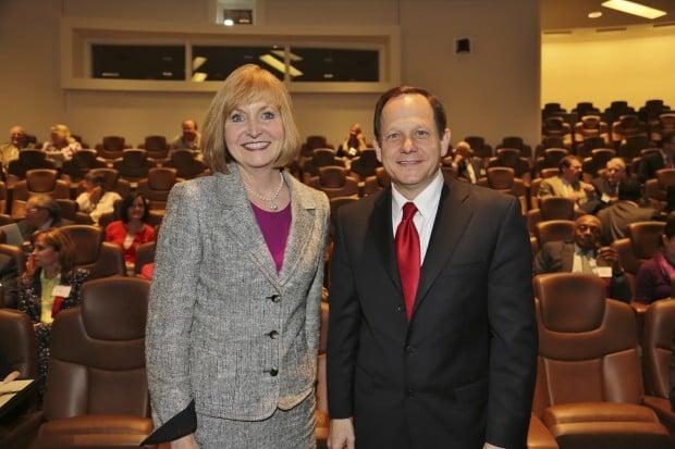 Mayor Linda Goldstein, Mayor Francis Slay