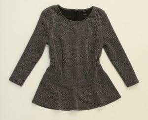 trend Peplum top, $68, Ann Taylor