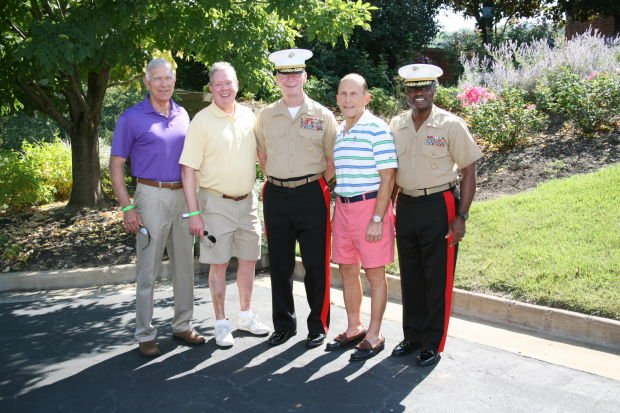 General Conway, Dr. Howard Short, LtGen Toolan, Allen Allred, LtGen Williams