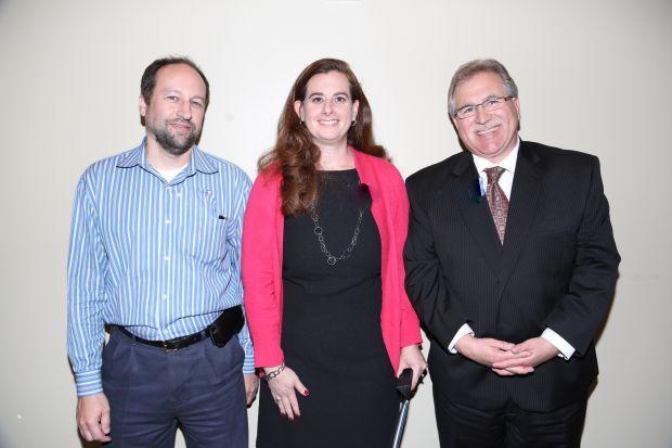 Steve Aubrecht, Amy Pollock, Alan Freeman