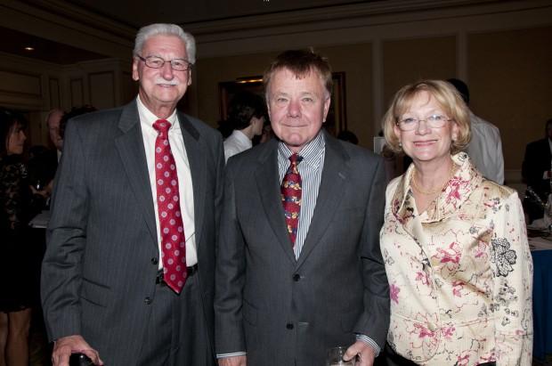 Ed Schultz, Jim Wodworth, Gail Schultz