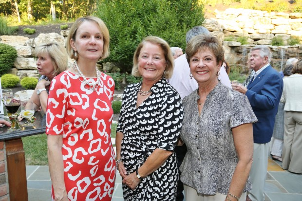 Nancy Galvin, Patty Arnold, Mary Beth Daniels