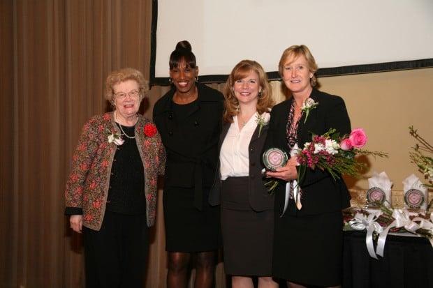 Blanche Touhill, Jackie Joyner-Kersee, Mary Frontczak, Amy Berg
