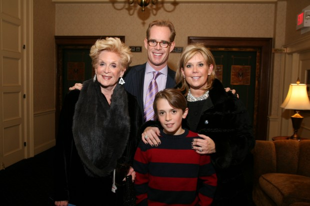 Carole Buck, Joe Buck, Ben Brooks, Julie Brooks