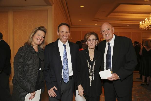 Heidi and Jeff Silverstone, Linda Hyken, John Virant