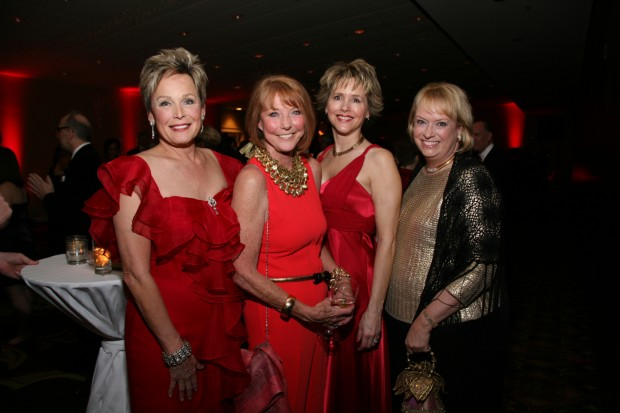 Karen Foss, Kathy Leonard, Geralynn Lord, Donna Heckler