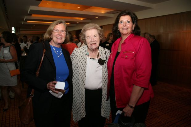 Colleen McCorry, Blanche Touhill, Tina Reichardt