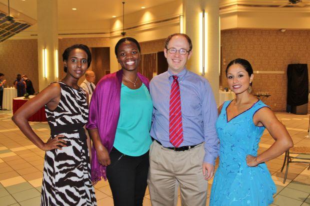 Deqa Bashir, Dr. Akwi Asmobangi, Dr. Seth Bloom, Kristina Martinez
