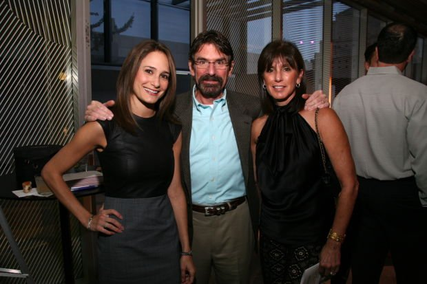 Stephanie Caplin, David and Debbie Caplin