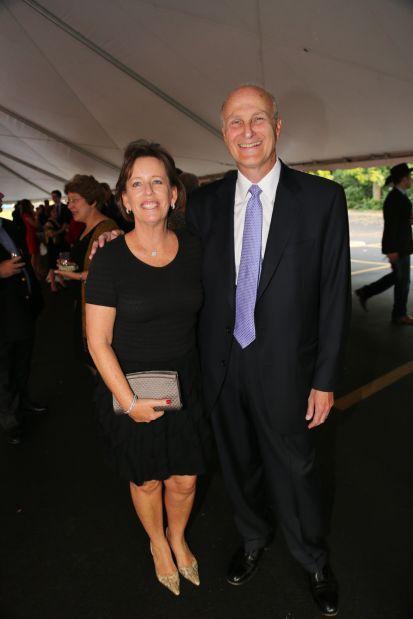 Mayor of Ladue Nancy Spewak, Bob Spewak
