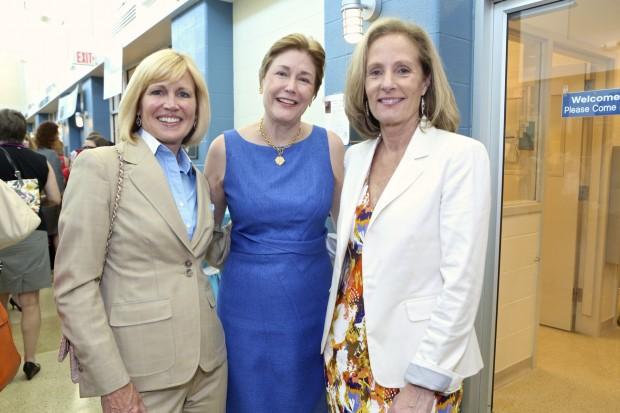 Pam Nicholson, Kathy Warnick, Diane Sullivan