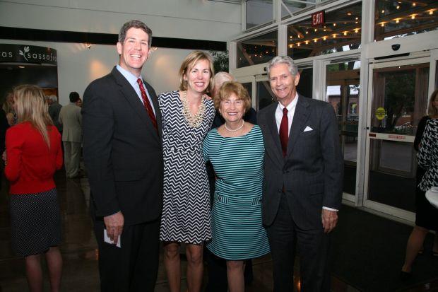 Ken and Mary Bower, Suzie Nall, Bob Barrett