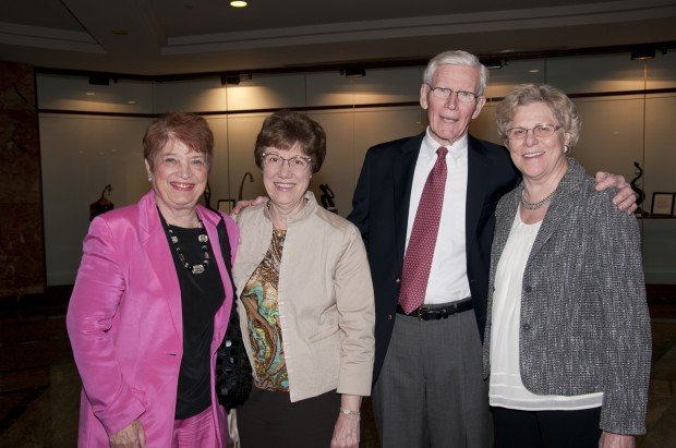 Pat Gallagher, Mary Gioia, John and Rose Hogan