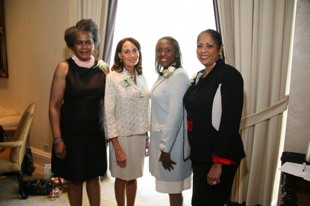 Malaika Horne, Brenda Newberry, Cheryl Polk, Thelma Steward