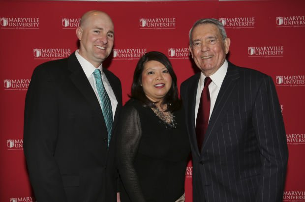 David Tobin and Trish Muyco-Tobin, Dan Rather