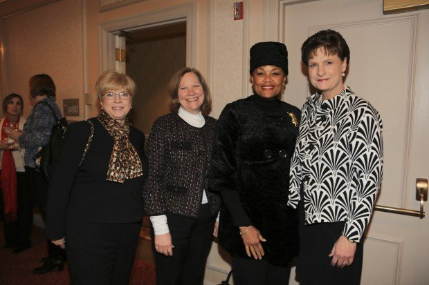 Juanita Hinshaw, Janet Holloway, Mary Elizabeth Grimes, Debra Hollingsworth