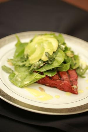 Grilled Watermelon & Avocado Salad