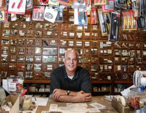 Owner Steve Schneider of New Market Hardware