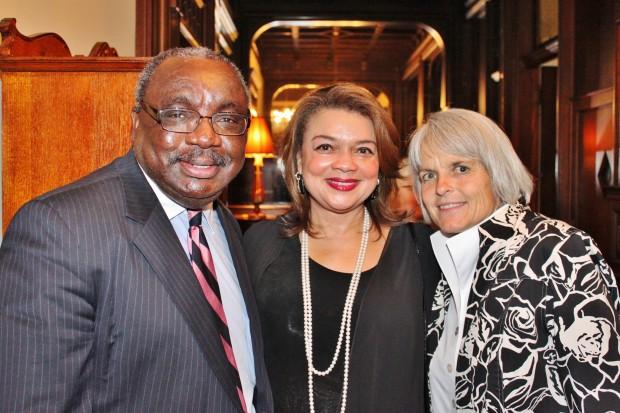 Jerry Hunter, Rosalyn Miles, Sharon Gerken