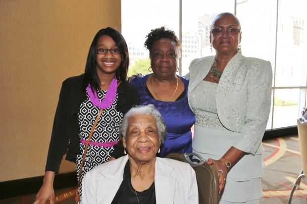Khylie Turner, Mildred Robinson, Linda Robinson Wilke, Margie Wilkerson