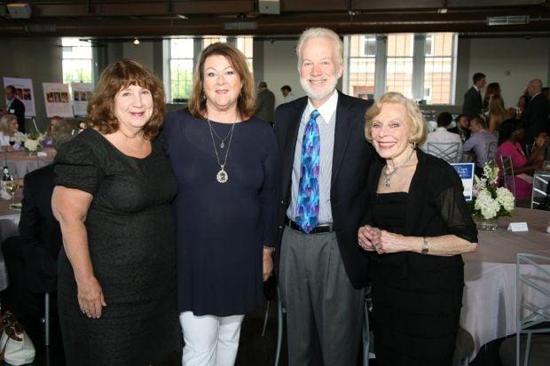 Marilyn Spirt, Anne Stupp, Dr. Jay Pepose, Shirley Schermer