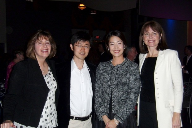 Becky Brown, Yoshi and Tamane Yamanishi, Janice Seele