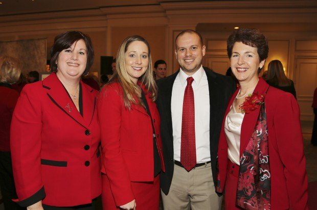 Rachelle Bartnick, Amy and Scott Dwyer, Sandra Van Trease