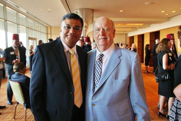 Deepak Kant Vyas (Chairman+CEO WACSTL), Robert Fischer