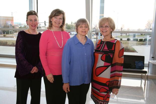 Gwendolyn Verhoff, Mary Ann Merz, Rebecca Wright, Patricia Wolff