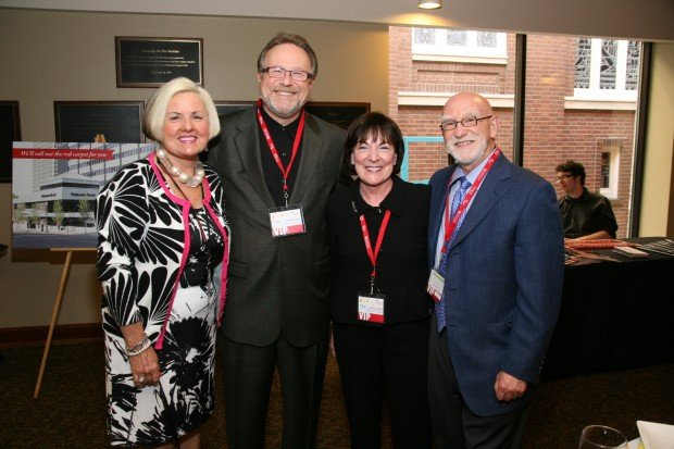 Millie Cain, Dr. Mark Lombardi, Sherri and Rick Goldman