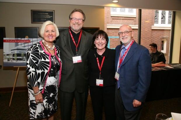 Millie Cain, Dr. Mark Lombardi, Sherri and Rick Goldman