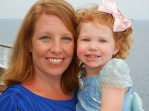 First Place: Melissa Lenz and her daughter, Brinley Lenz, of Chesterfield