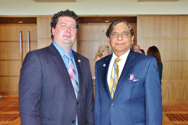 Jonathon Boesch, Dr. Sadiq Mohyuddin