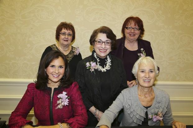 Jane Weiss, Fran Sisson, Ernie Edelmann, Arlen Chalefff, Marie Davis