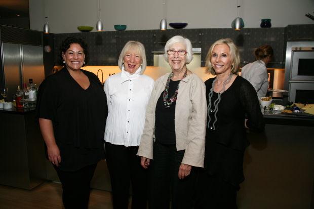 Lisa Melandri, Boo Cook, Emily Pulitzer, Pat Whitaker
