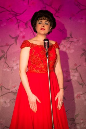 Musical Patsy Cline presented by STAGES St. Louis at Westport Plaza in St. Louis on April 20, 2014.