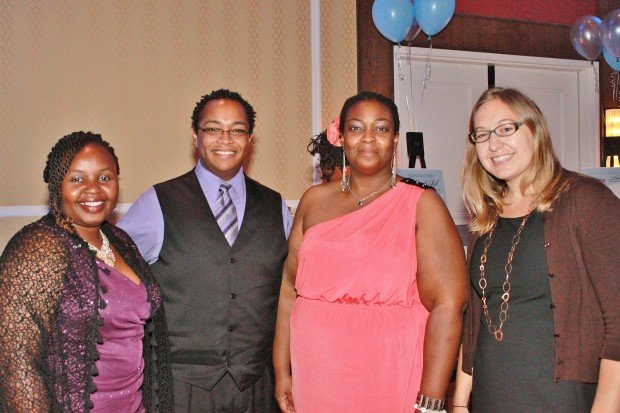 Joyce Kariuki, Brandon Johnson, Ianesha House, Tanya Mark