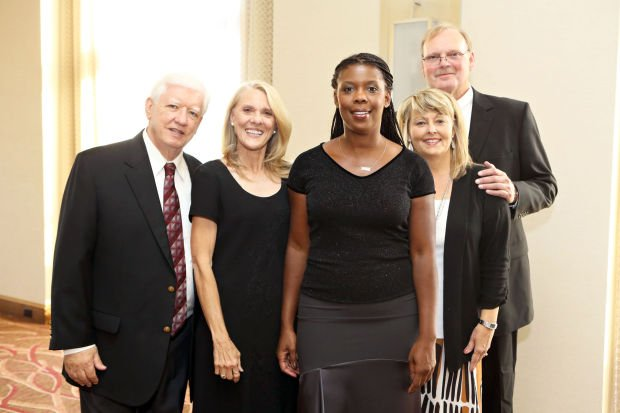 T.R. and Lucy Carr, Star Parker, Michael and Patty Hake