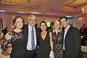 Kathy Reardon, Rob and Susan Goldstein, Elizabeth and Mark Goldstein