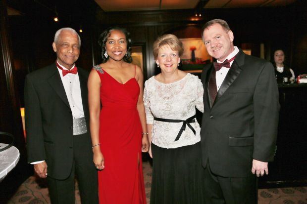 Judge Donald McCullin, Dr. Angela Brown, Lynn Barnes, Jerry Barnes