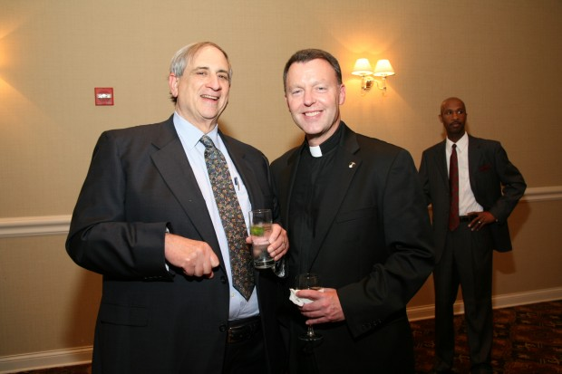 John Dubinsky, Fr. David Caron