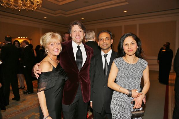 Candis and David Theodoro, Sundeep Das, Renuka Sodhi