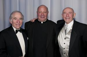 Sam Fox, Fr. Lawrence Biondi, Joe Adorjan