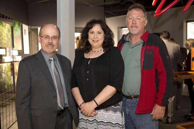 Mark Braun, board member Diana Madrid, Dave Hunsche
