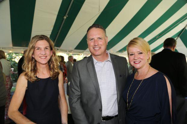 Nicole Freber, Eric Cunningham, Kate Francis
