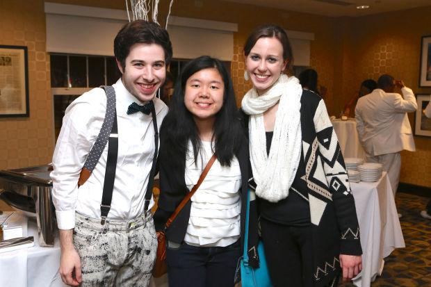 Michael Tabb, Katie Chin, Samantha Allen